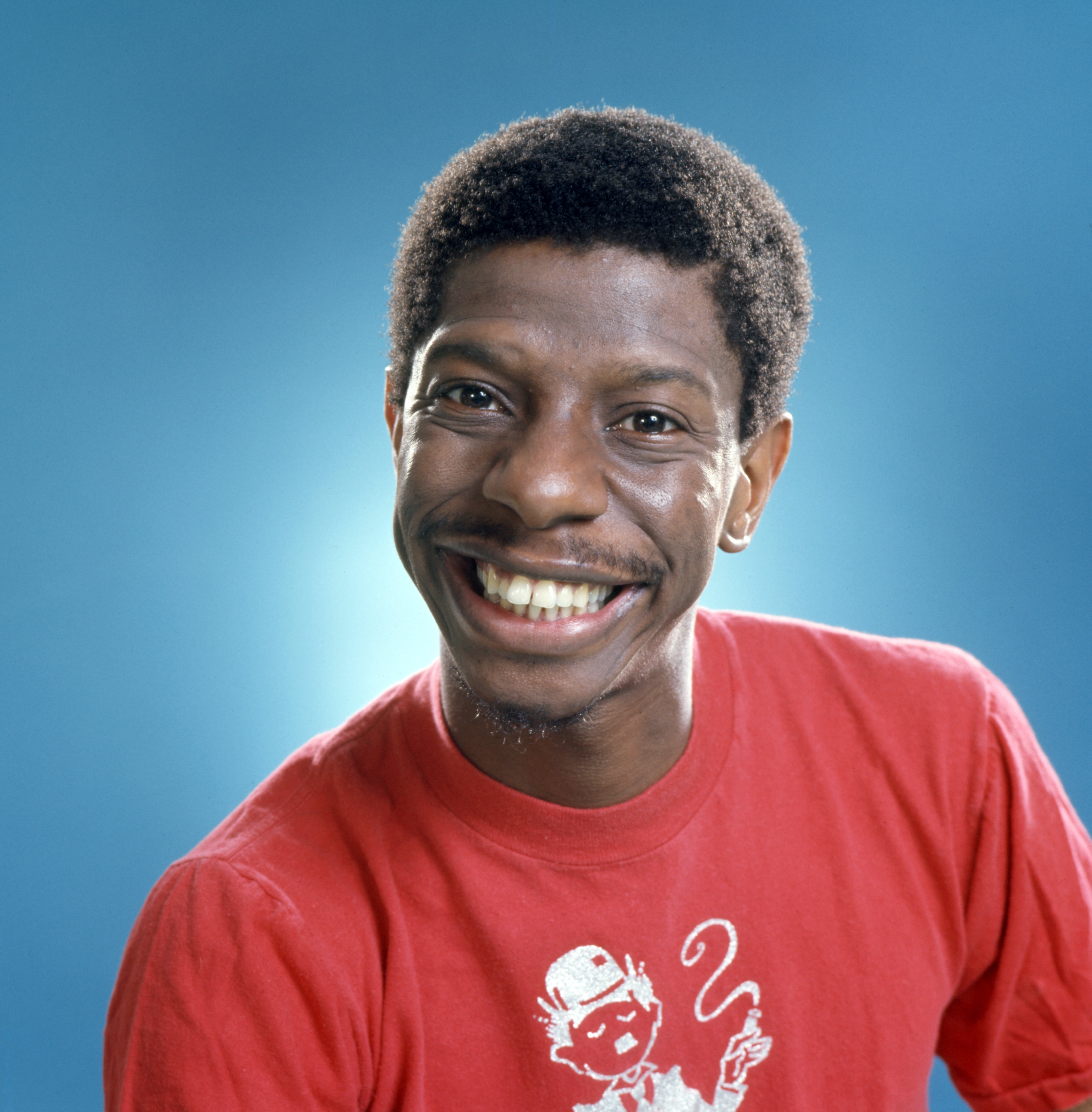 """Jimmie Walker as 'J.J.' Evans in the CBS television sitcom, """"Good Times."""" January 1, 1977 