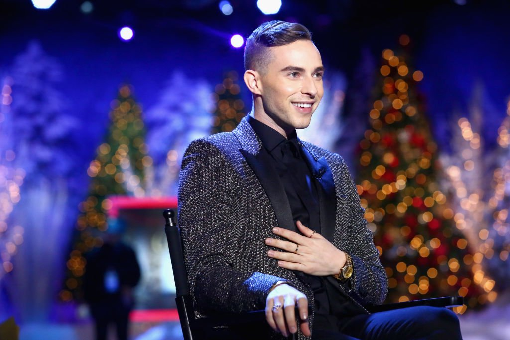 Adam Rippon at Full Frontal With Samantha Bee Presents Christmas On I.C.E. at PlayStation Theater on December 17, 2018 | Photo: Getty Images