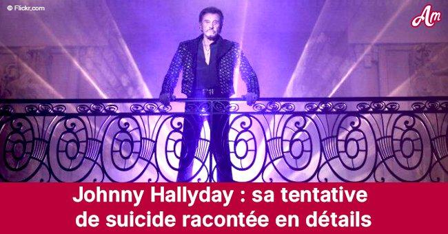 Johnny Hallyday: le moment de sa vie qui l'a poussé à essayer de se suicider