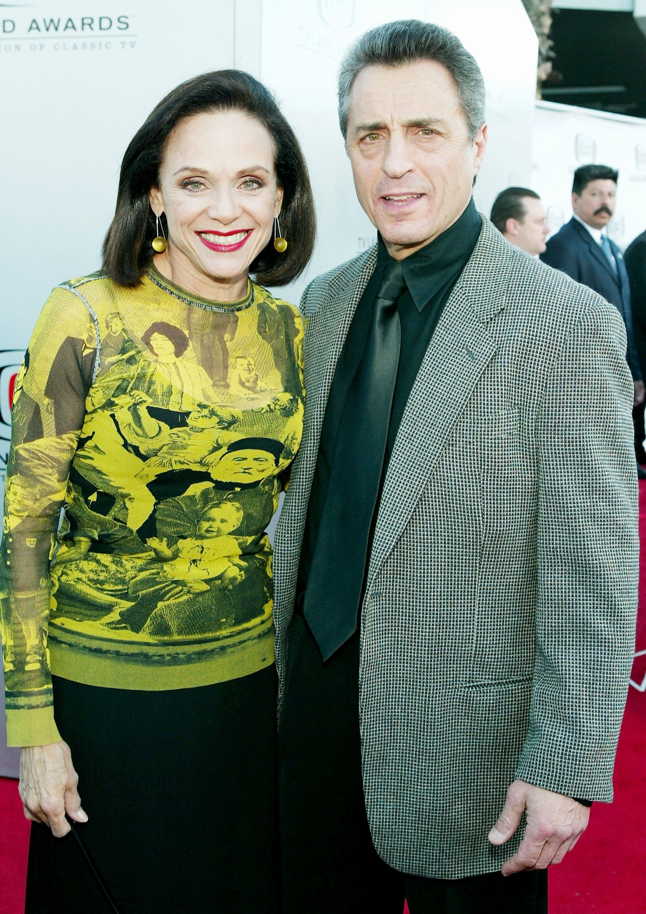 Valerie Harper and husband Tony Cacciotti on March 7, 2004 in Hollywood, California | Source: Getty Images