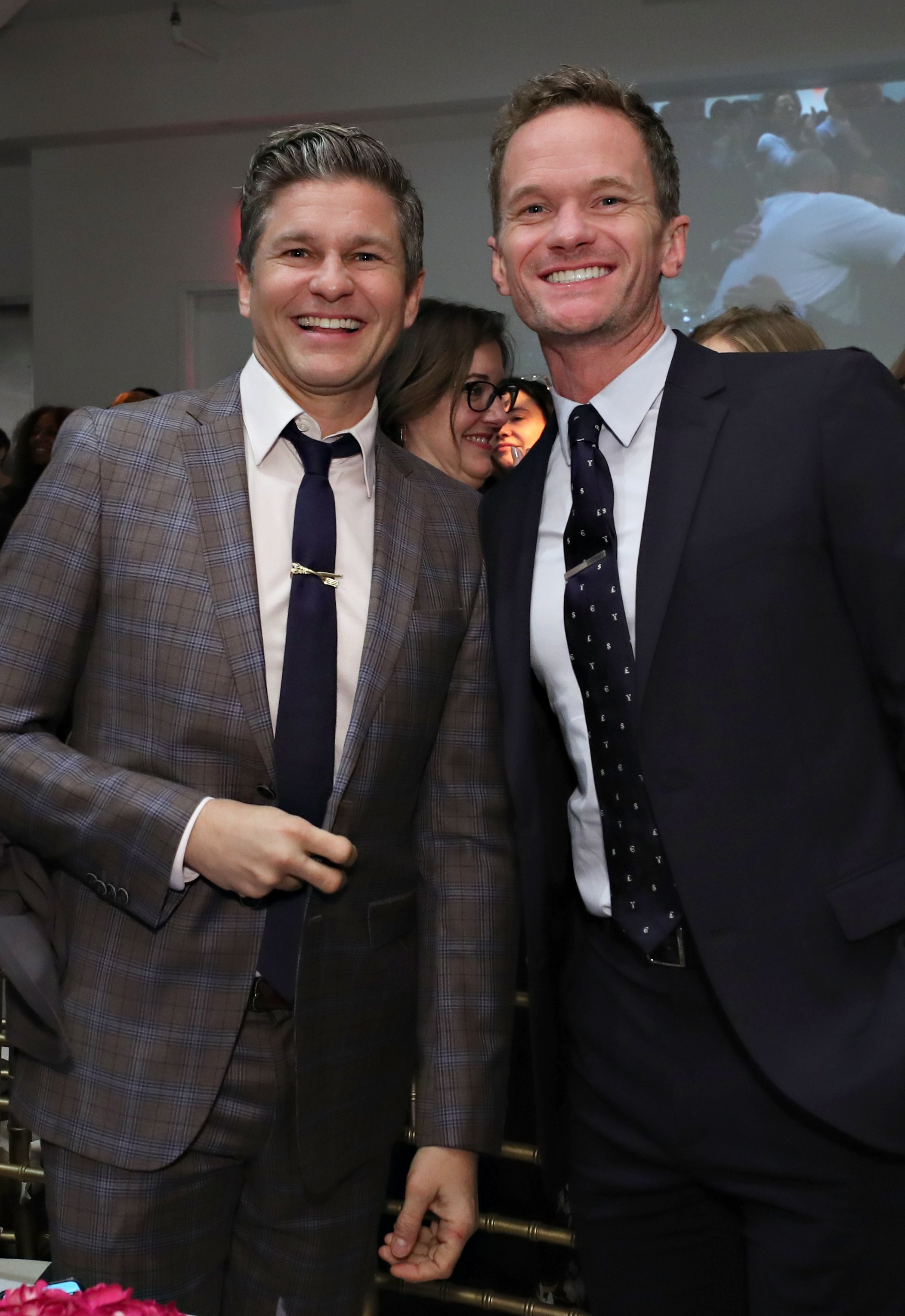 David Burtka and Neil Patrick Harris attend the 2019 Chefs For Kids' Cancer at Metropolitan Pavilion Metro West on March 12, 2019, in New York City. | Source: Getty Images.