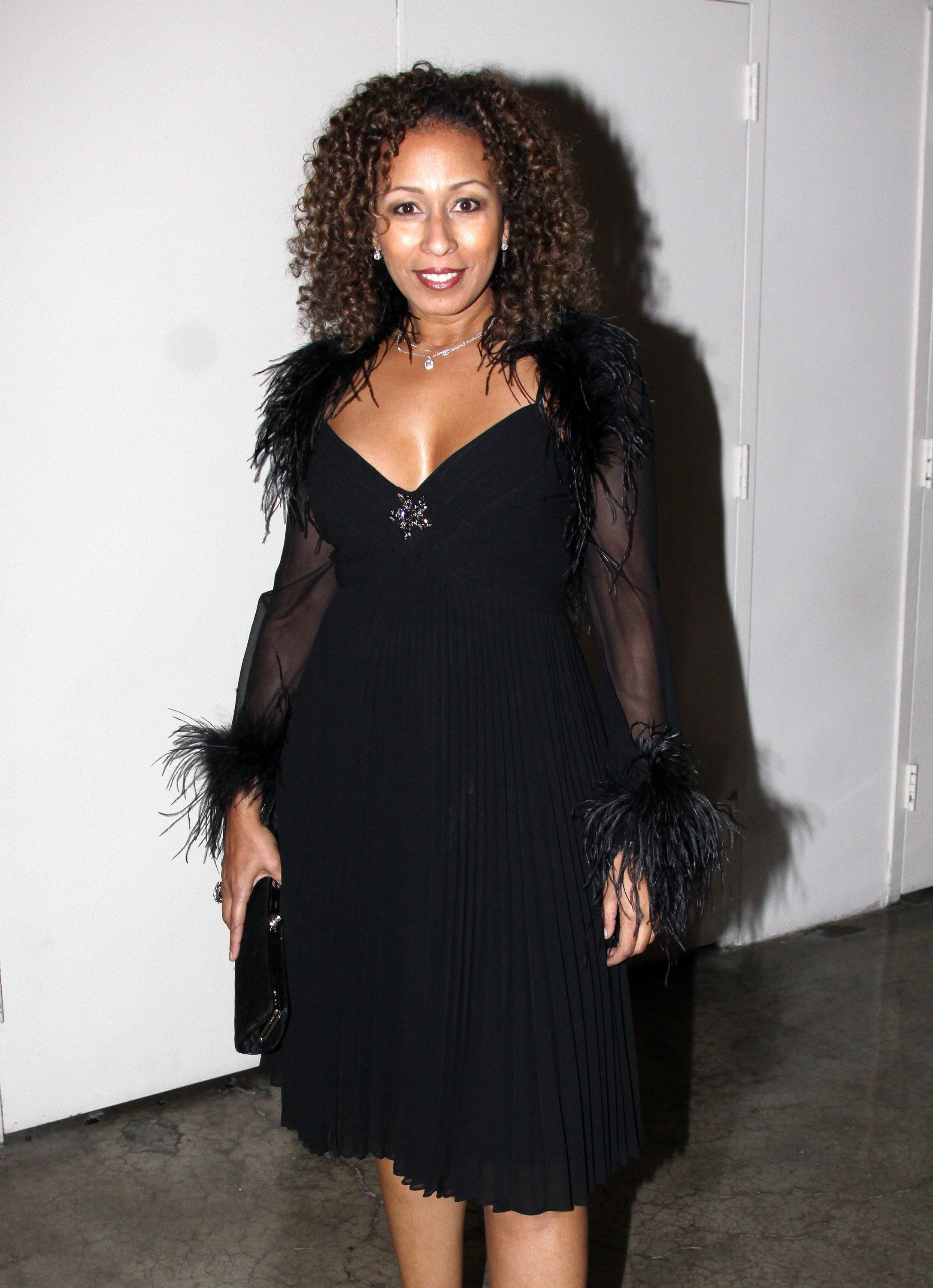 Tamara Tunie poses at the Stage Directors And Choreographers Society 50 Year Celebration at Tribeca Rooftop on November 8, 2009 in New York, New York | Photo: Getty Images