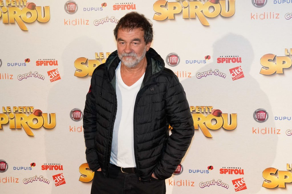 "L'acteur Olivier Marchal assiste à la première de "" Le Petit Spirou "" au Grand Rex le 10 septembre 2017 à Paris, France. 