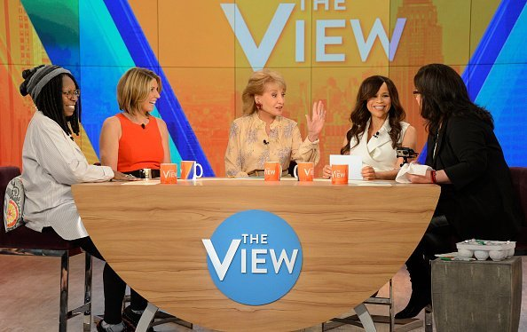 Barbara Walters on 'THE VIEW.   Photo: Getty Images