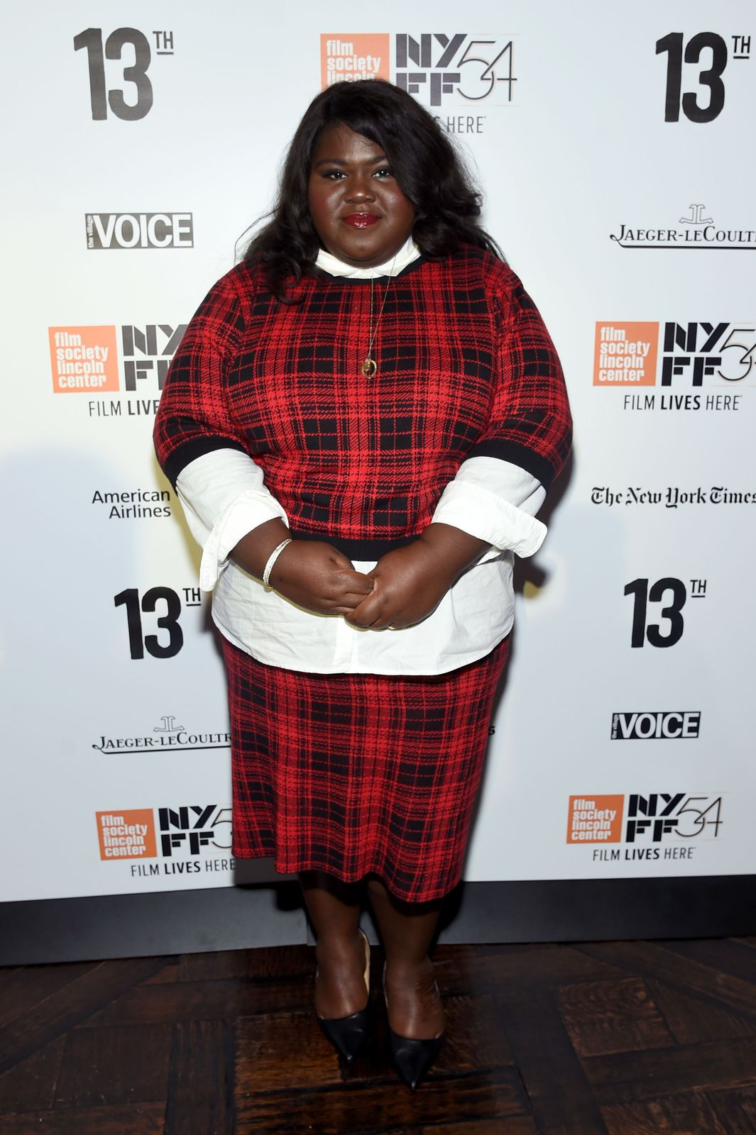 Gabourey Sidibe at the New York Film Festival Opening Night Party on September 30, 2016 in New York City. | Source: Getty Images