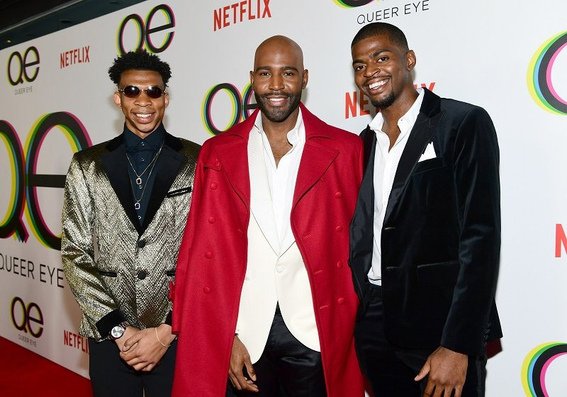 Chris Brown, Karamo Brown, and Jason Brown on February 7, 2018  | Photo: Getty Images