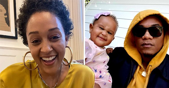 Fans Gush over Tia Mowry's Handsome Husband Cory Hardrict & Daughter Cairo in a Stunning Selfie
