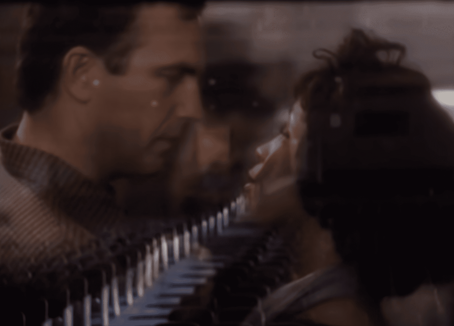 """Costner and Whitney in the movie """"The Bodyguard"""". 