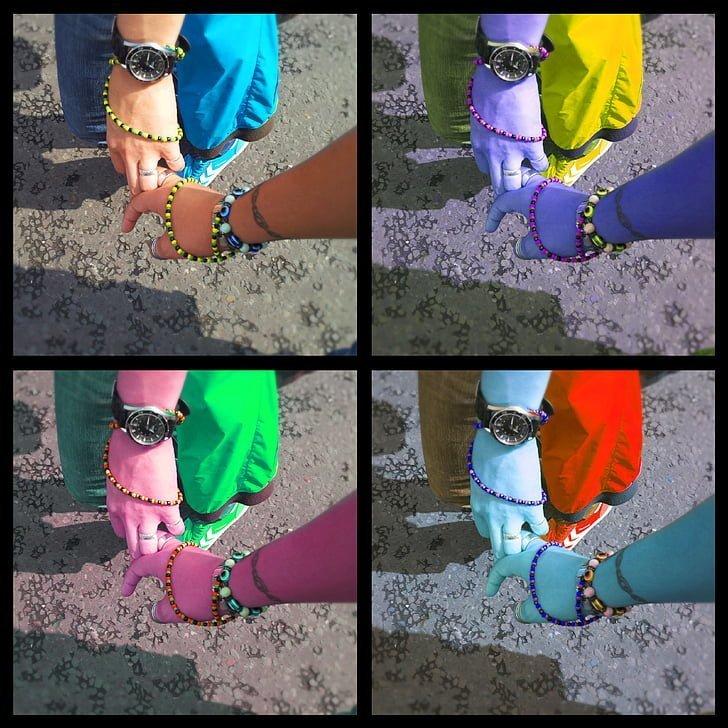 Collage Händen haltend | Quelle: PxHere