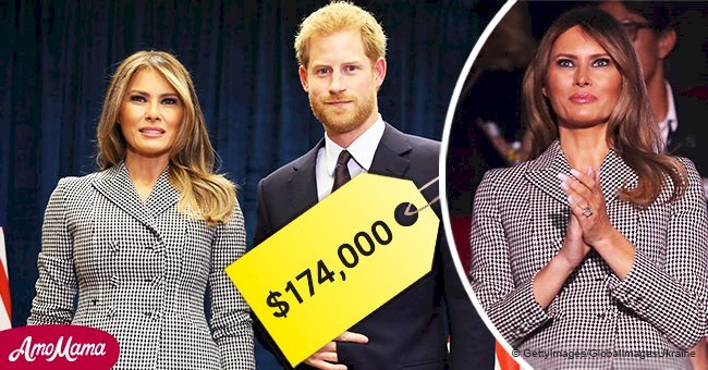 Melania Trump spent $174,000 for a day trip to meet Prince Harry in Toronto