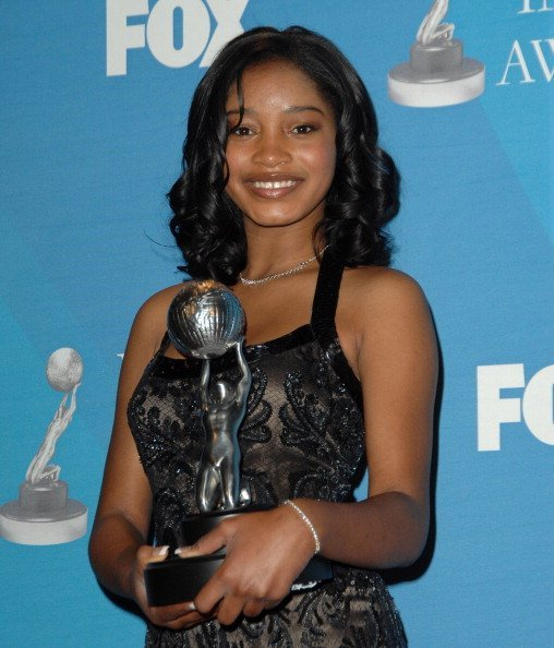 """Keke Palmer, won the Outstanding Actress in a Motion Picture for """"Akeelah and the Bee"""" 