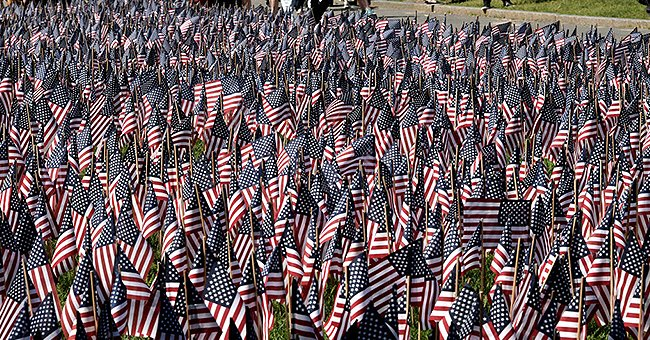 37,000-Flag Memorial Garden Returned to Boston Common This Year after COVID-19 Restrictions