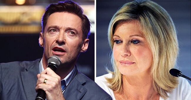 Olivia Newton-John Gets 'We Love You' Message from Hugh Jackman and 15,000 Others Amid Her Cancer Battle
