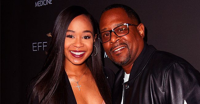 Martin Lawrence's Daughter Jasmine's Quarantine Moods Are Relatable