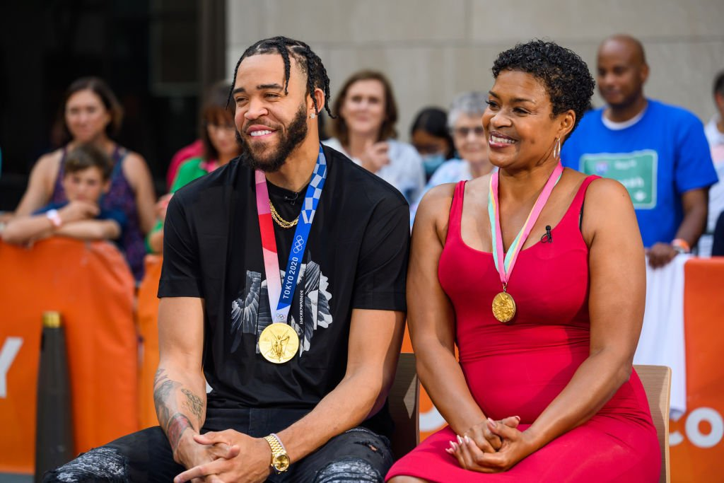 Javale and Pamela McGee on Today show on Wednesday August 11, 2021.   Photo: Getty Images