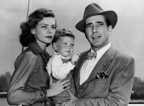 Photo of Humphrey Bogart, his wife, Lauren Bacall and son, Stephen | Photo: Getty Images