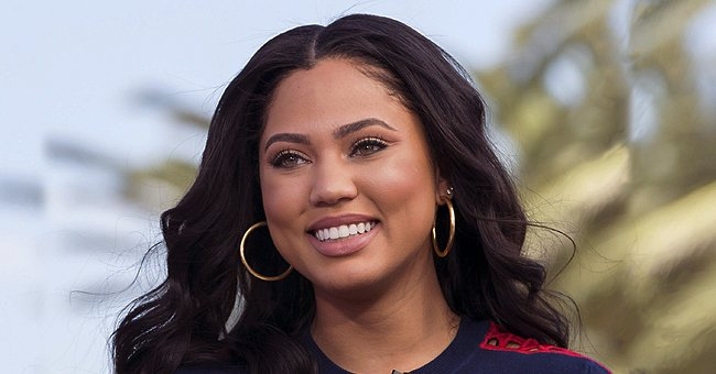 Ayesha Curry of 'Family Food Fight' Expertly Styles Baby Son Canon's Hair during Quarantine