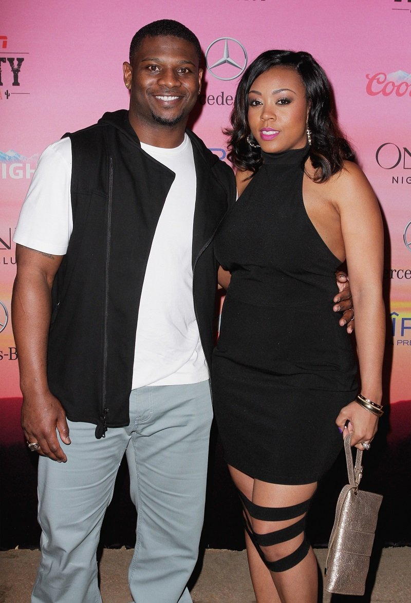 LaDainian Tomlinson and LaTorsha Oakley on January 30, 2015 in Scottsdale, Arizona | Photo: Getty Images
