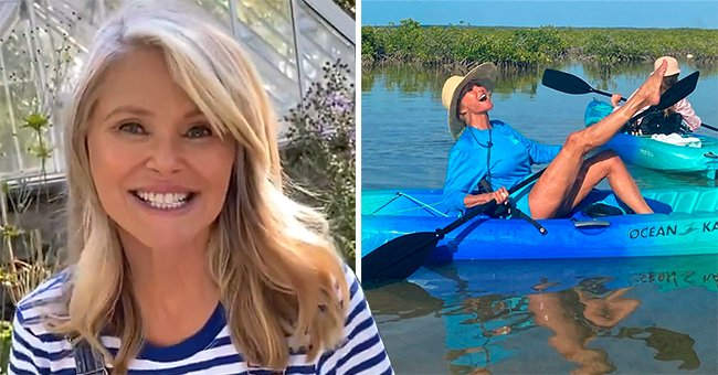 Christie Brinkley Enjoys an Adventure in a Mangrove with Her Family & Friends in Turks & Caicos