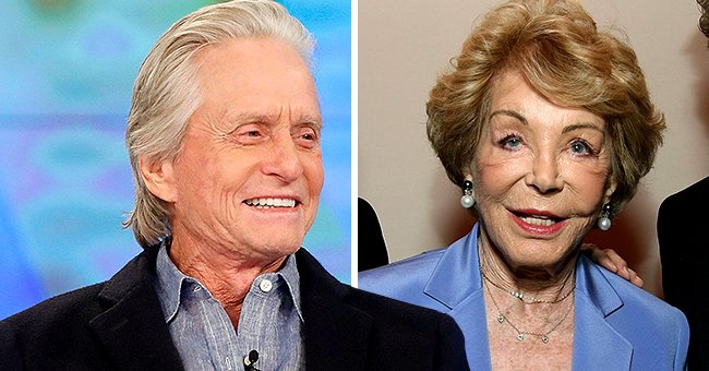 Today: Michael Douglas Praises His Stepmom Anne One Month after She Passed Away at 102
