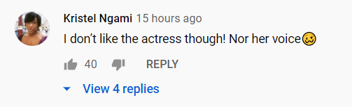 """A fan's comment on the trailer of """"Wendy Williams: The Movie.""""   Photo: YouTube/Entertainment Tonight"""