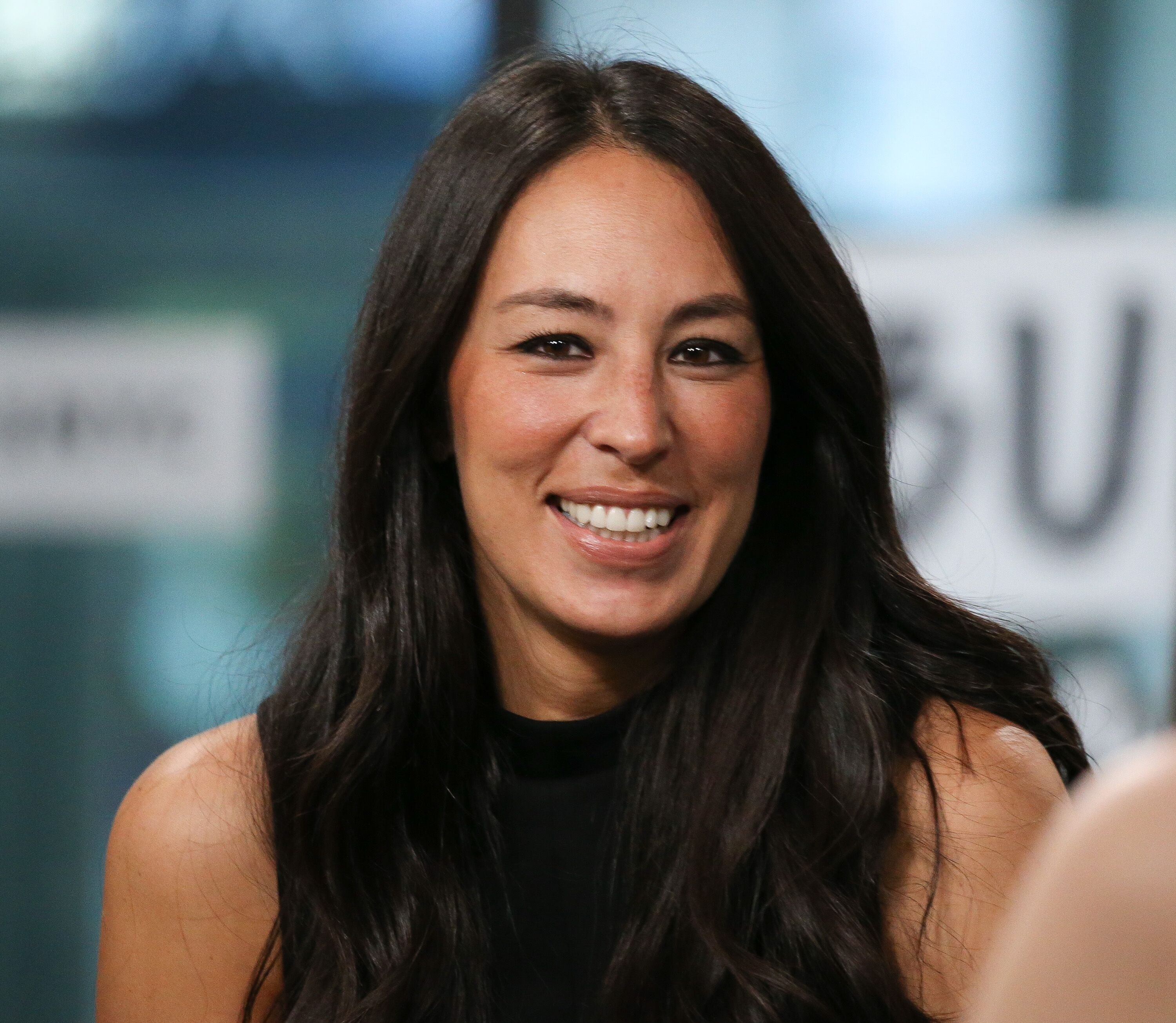 """Joanna Gaines discusses new book, """"Capital Gaines: Smart Things I Learned Doing Stupid Stuff"""" at Build Studio on October 18, 2017 in New York City 