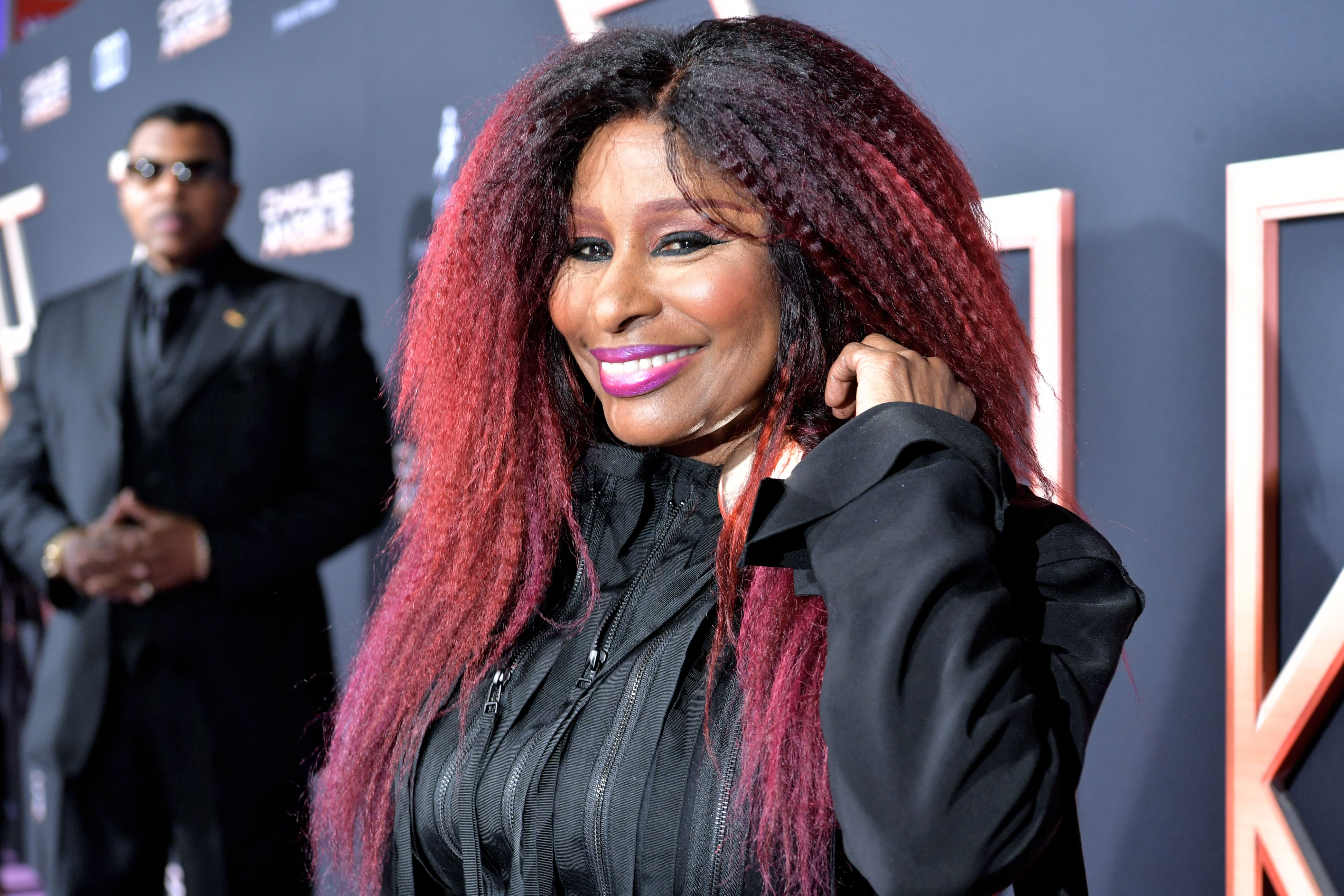 """Chaka Khan at the premiere of""""Charlie's Angel's"""" in 2019 in Los Angeles 
