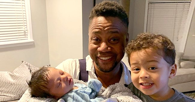 Omar Gooding from 'Family Time' Melts Hearts Cuddling Baby Son in Adorable Photos