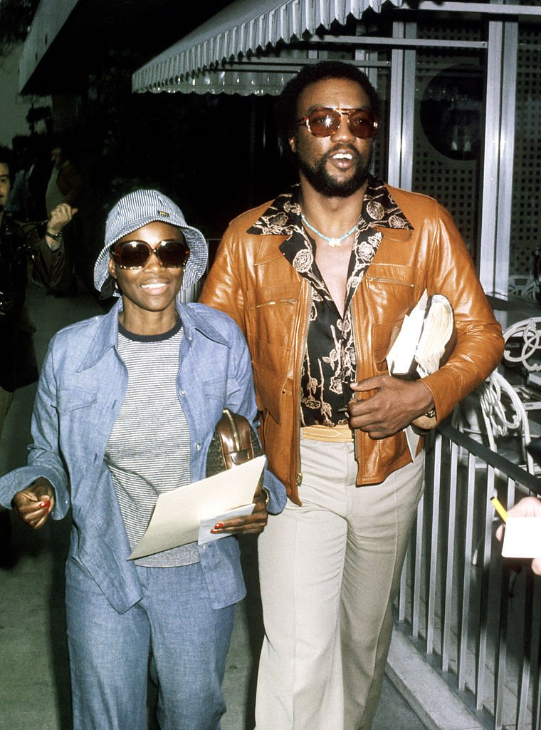 Cicely Tyson and Paul Winfield during 45th Academy Award Rehearsals in Los Angeles   Source: Getty Images
