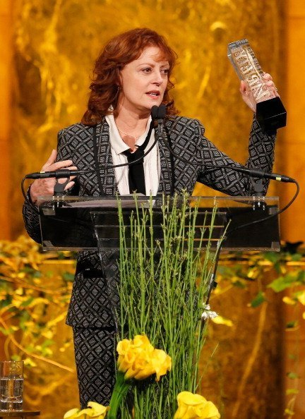 Susan Saradon speaks onstage at Variety Power Of Women: New York presented by FYI at Cipriani 42nd Street in New York City. | Photo: Getty Images