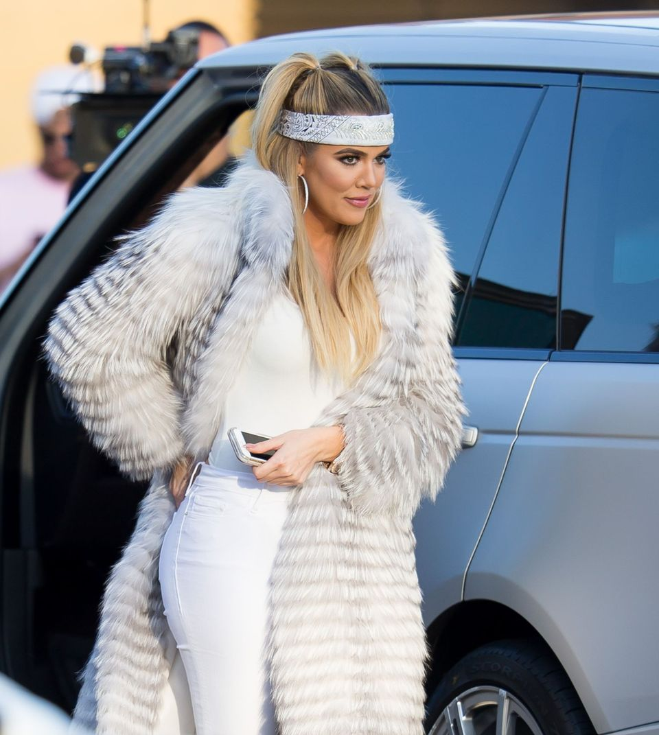 Khloe Kardashian spotted at Nobu in Malibu on May 26, 2016 in Los Angeles, California.   Source: Getty Images