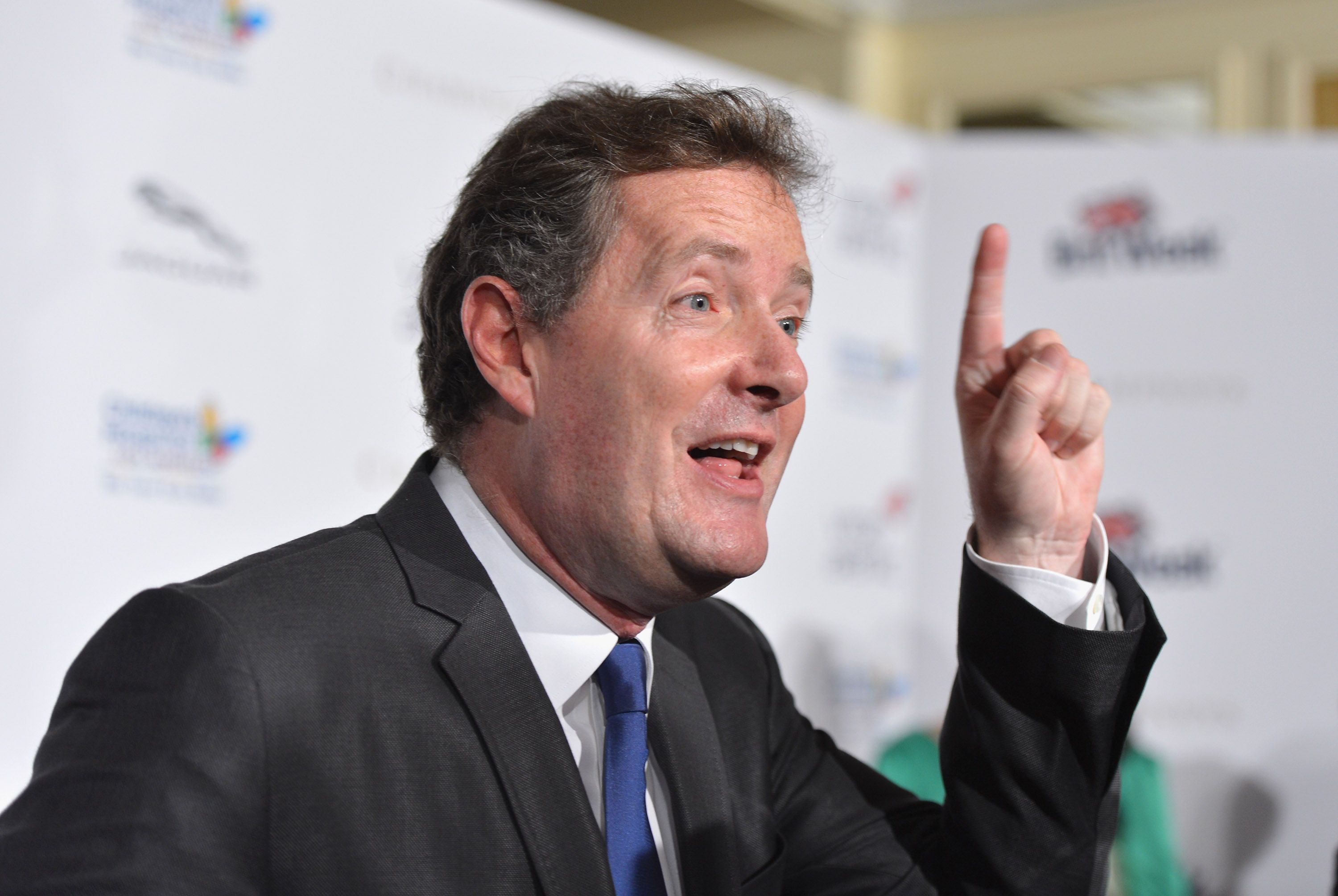 """Piers Morgan at BritWeek 2012's """"Evening with Piers Morgan"""" on May 4, 2012 