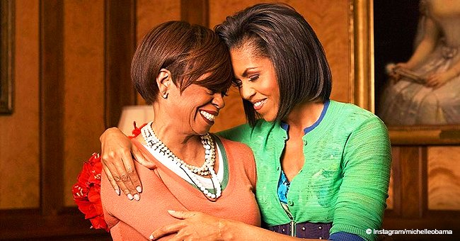 Michelle Obama shares funny text exchange with her mom who doesn't think she's a 'real' celebrity
