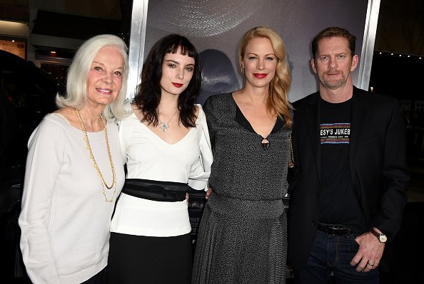 Maggie Johnson, Graylen Eastwood, Alison Eastwood and Stacy Poitras at the Village Theatre on December 10, 2018 in Los Angeles, California. | Photo: Getty Images