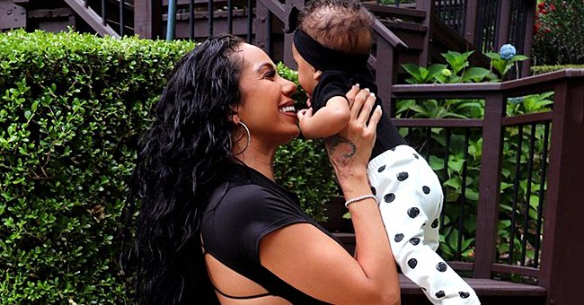 See Erica Mena and Her Daughter's Adorable Matching Black and White Outfits in a New Photo