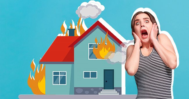 The woman who lost her house through fire is about to hear from God himself | Photo: Shutterstock