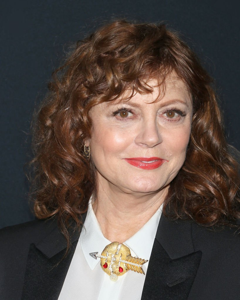 """Susan Sarandon attends the """"Thelma & Louise"""" Women In Motion screening at Museum of Modern Art on January 28, 2020 