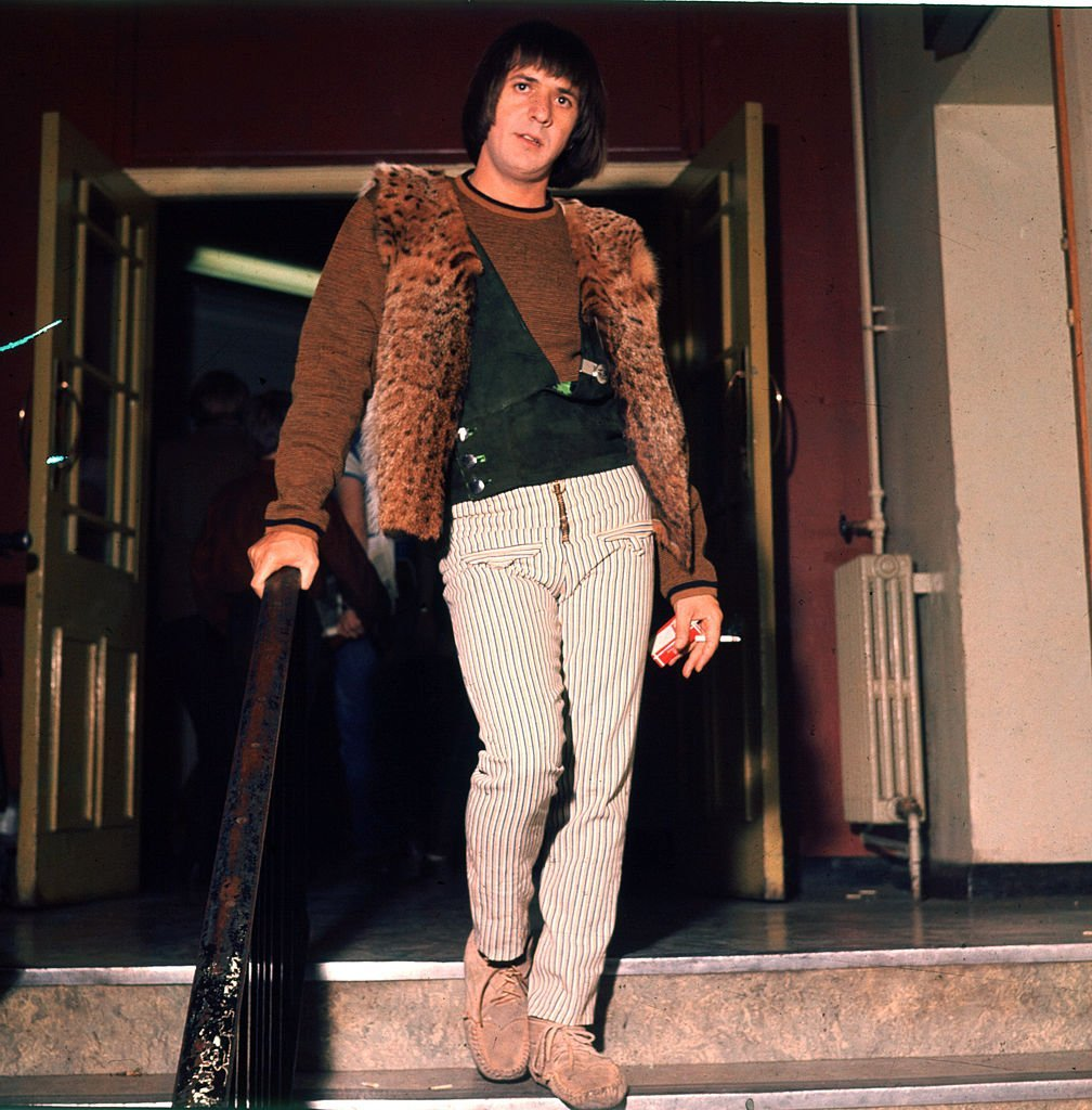 Sonny Bono photographed after performing live | Getty Images