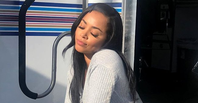 Lauren London Is All Grace & Glamour as She Slays in Royal Brown Leather Outfit in a Photoshoot