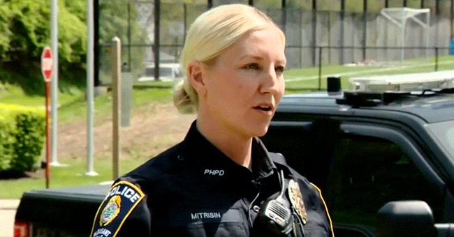 Police Officer Pays Attention to Car at a Red Light, Saves 9-Day-Old Baby's Life