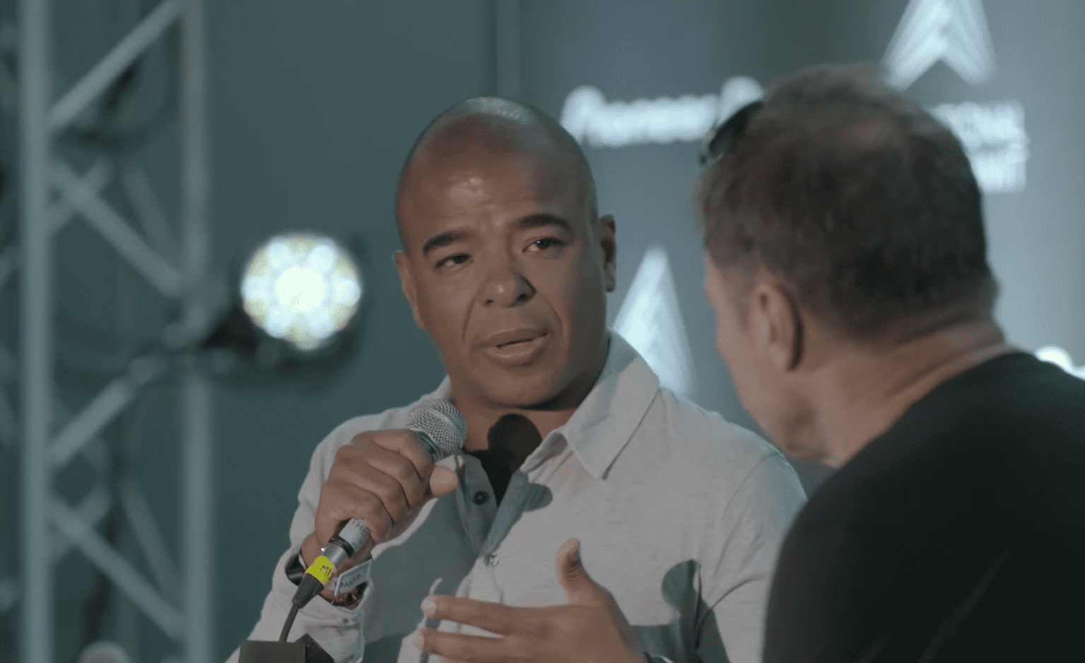 Erick Morillo in an interview about his ketamine addiction and a long, but successful road to recovery. | Photo: Youtube/ International Music Summit