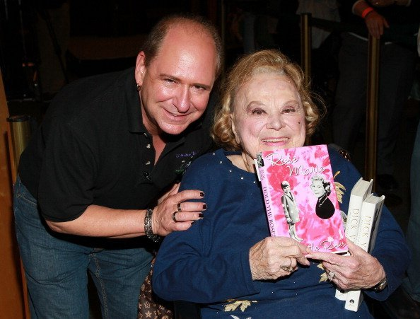 Larry Mathews and Rose Marie on May 10, 2011 in Los Angeles, California   Source: Getty Images