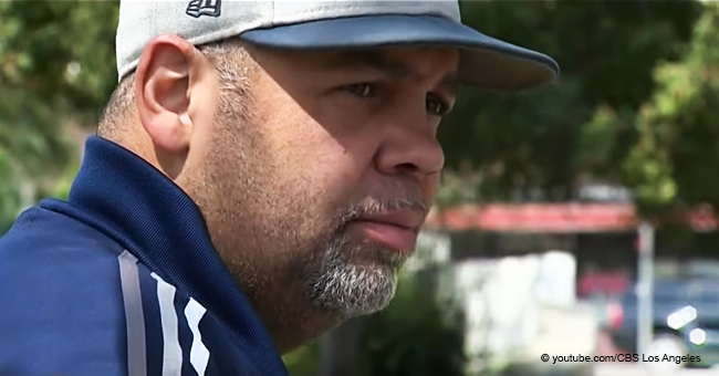 Hero-Father Left on Crutches after Miraculously Saving His Daughter from a Hit-and-Run Driver