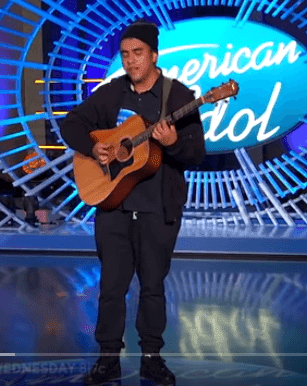 "Alejandro Aranda dans ""American Idol"" 