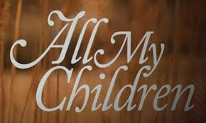 """The 2013 logo of """"All My Children. 