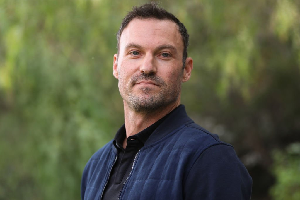 Brian Austin Green during a Universal Studios visit in Hollywood on November 15, 2019. | Photo: Getty Images.
