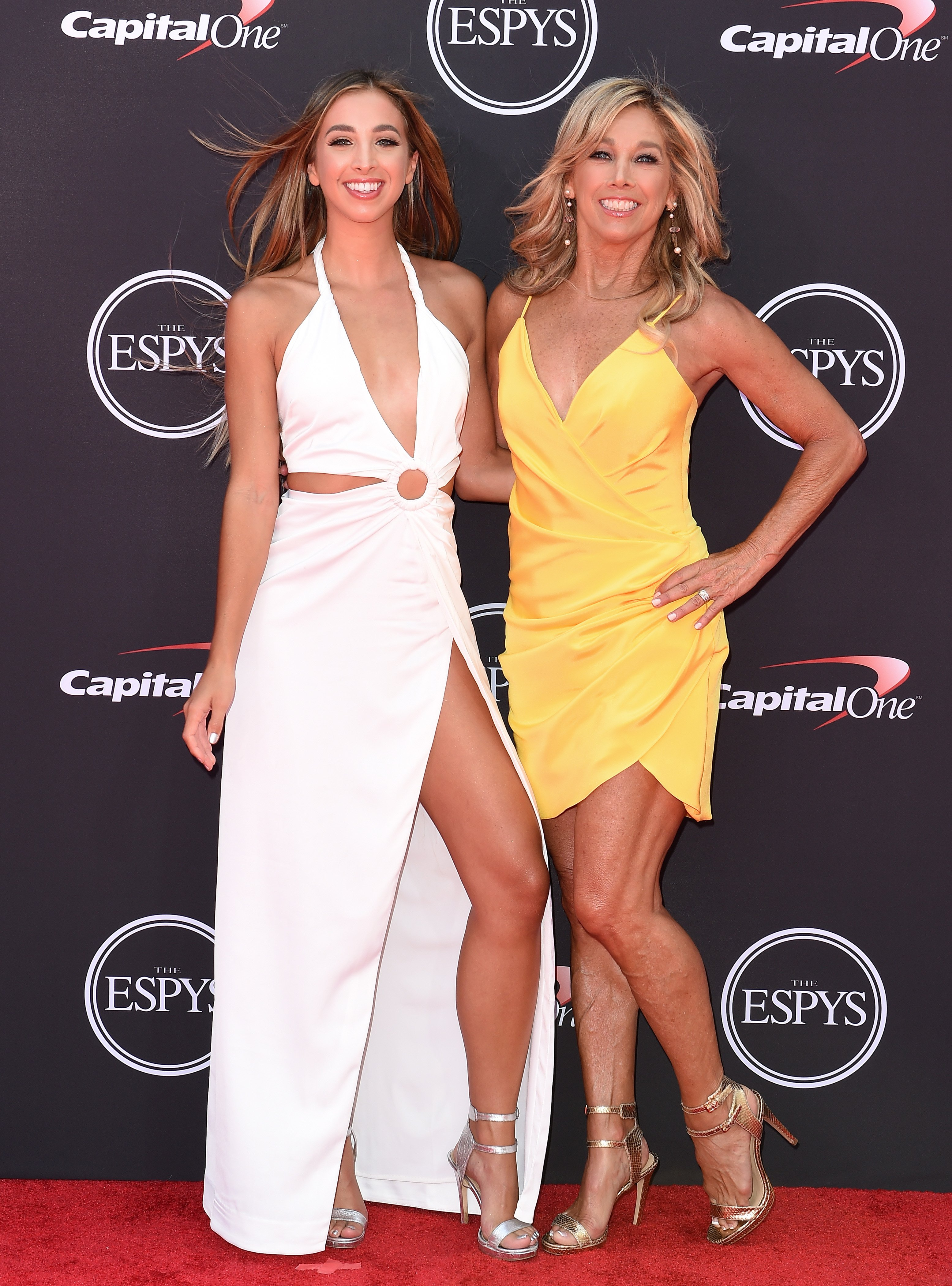 Kate and Denise Austin pictured at The 2018 ESPYS at Microsoft Theater, 2018, California. | Photo: Getty Images
