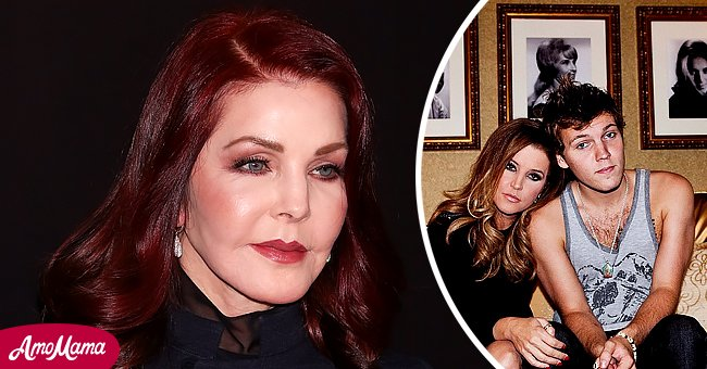 Pictures of Priscilla Presley and her daughter Lisa Marie Presley with her son Benjamin Keough   Photo: Getty Images    instagram.com/lisampresley