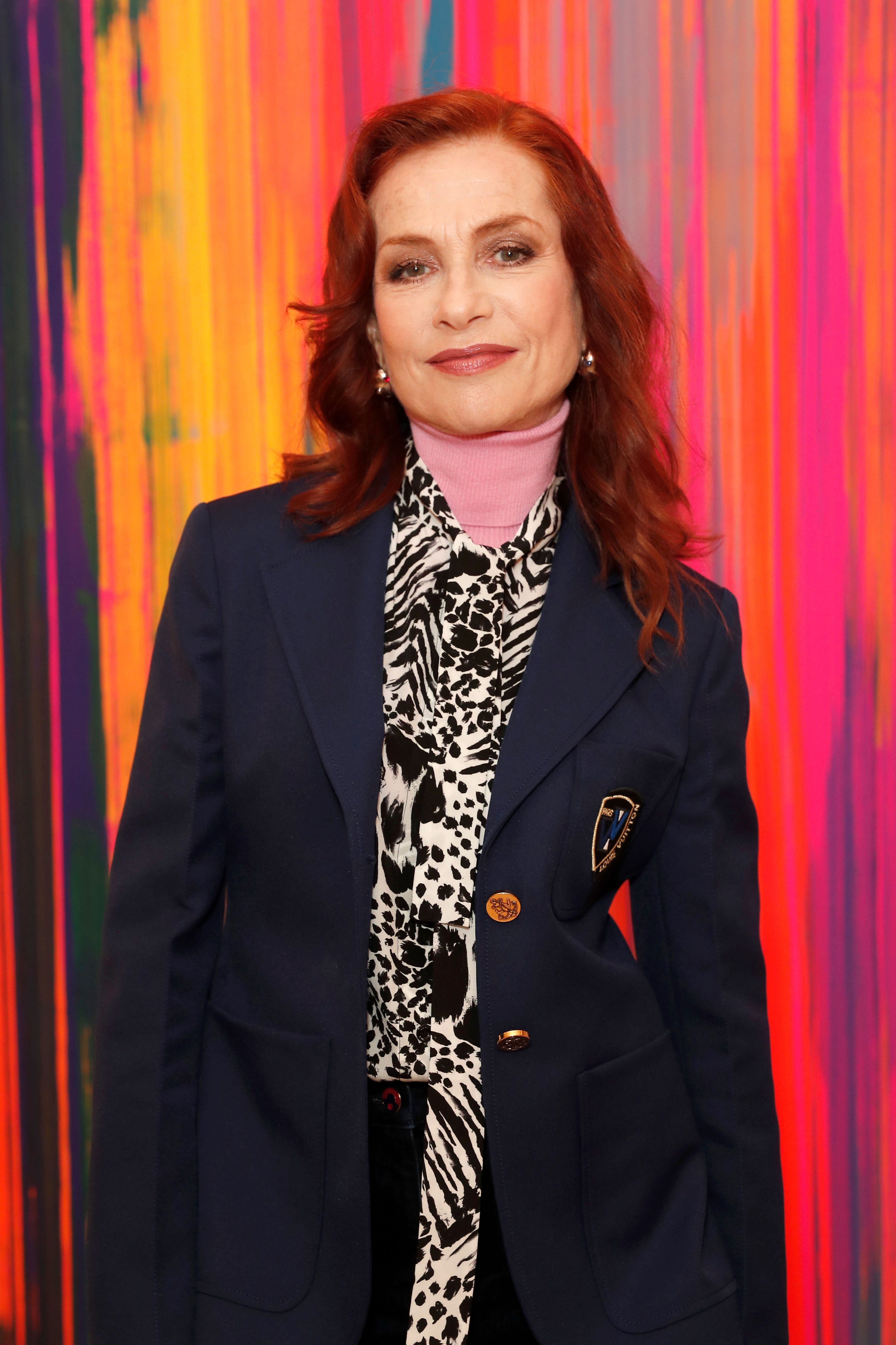 Isabelle Huppert, le 23 octobre 2019 à Londres, au Royaume-Uni. | Photo : Getty Images