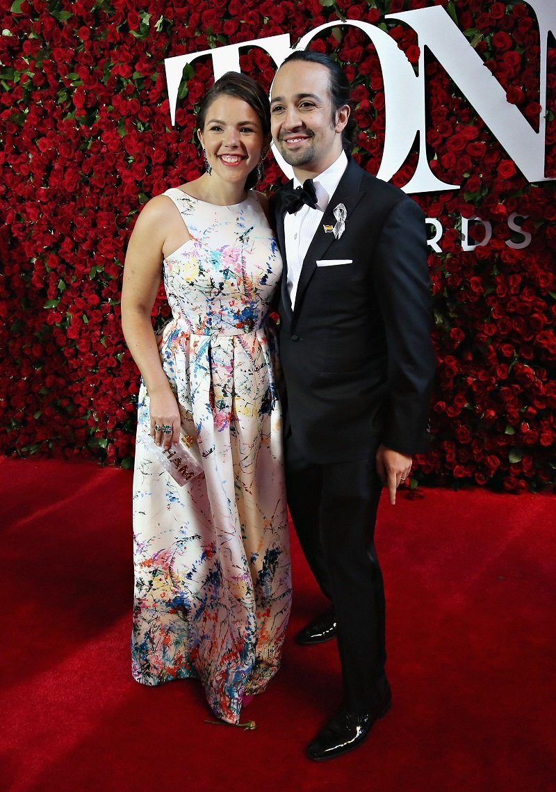 Vanessa Nadal and Lin-Manuel Miranda attending the 70th Annual Tony Awards at The Beacon Theatrein New York City, in June 2016. | Image: Getty Images.